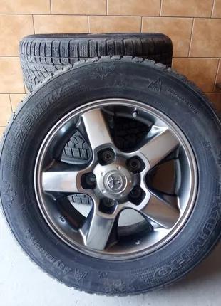 Диски з резиною до Toyota Iand cruiser 100