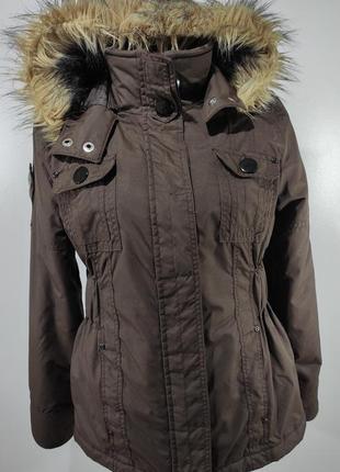 Женская немного утепленная куртка весна - осень размер 36 (наш...