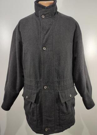 Мужское кашемировое пальто весна - осень размер 50