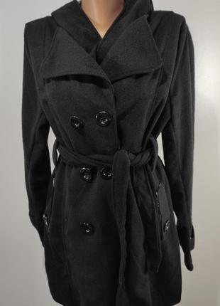 Женское пальто весна - осень на пуговицах размер 40-42