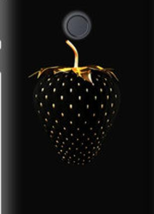 "Чехол на HTC Desire 12 Plus Черная клубника ""3585u-1485"""