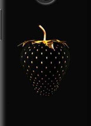 "Чехол на HTC Desire 300 Черная клубника ""3585u-224"""