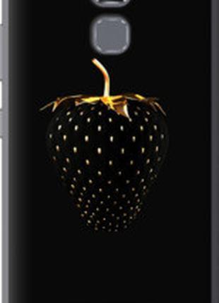 """Чехол на Asus Zenfone 3 Max ZC520TL Черная клубника """"3585m-442"""""""