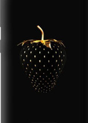 "Чехол на HTC Desire 320 Черная клубника ""3585u-497"""