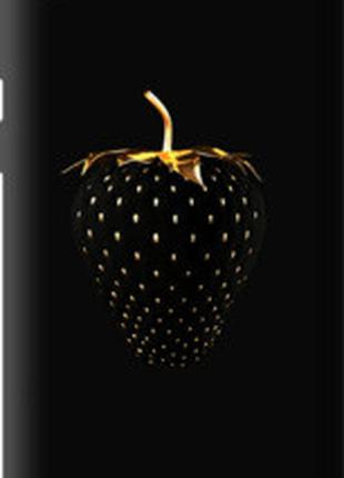 "Чехол на HTC Desire 630 Черная клубника ""3585u-454"""