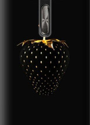 "Чехол на Asus ZenFone 2 Laser ZE500KL Черная клубника ""3585u-113"""