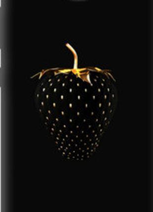 """Чехол на Huawei Honor 3C Черная клубника """"3585u-307"""""""