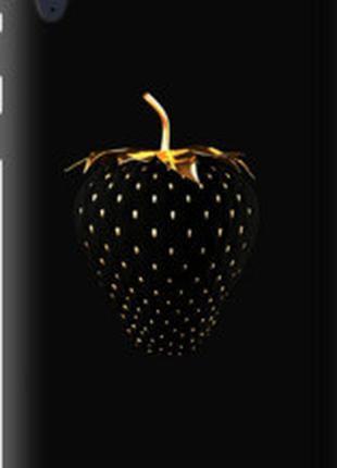 "Чехол на HTC Desire 830 Черная клубника ""3585u-785"""