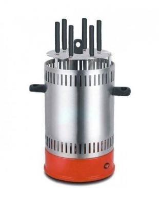 Электрошашлычница вертикальная Livstar LSU-1320 BBQ на 6 шампу...