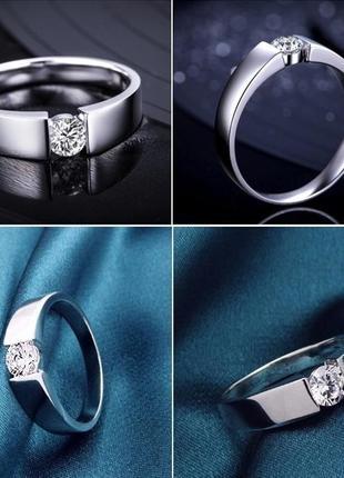 Обручальное кольцо, стерлинговое серебро