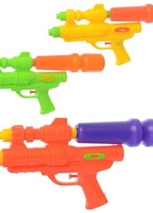 Водяной пистолет MR 0574 (120шт) размер большой, 37см, 3цвета,...