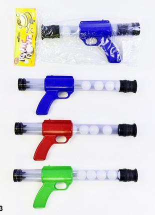 RUS Помповое оружие PLAY SMART 1055 Кинг Понг с шариками 3цв.к...