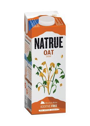 Напій вівсяний, без цукру 1%, Natrue, 1л