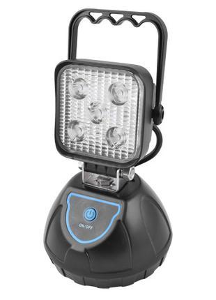 Прожектор светодиодный WJ004-5XPE + мигалка