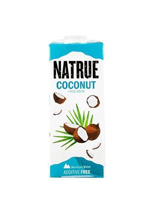Напій рисово-кокосовий, без цукру 2%, Natrue, 1л