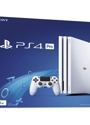 Sony Playstation 4 pro 1tb LIMITED EDITION WHITE