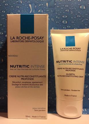 Питательный крем для восстановления сухой кожи la roche-posay ...