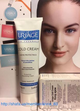 Защитный колд-крем для сухой кожи от холода uriage cold-cream ...