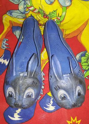 Резиновые туфельки тапочки