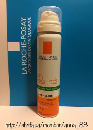 Солнцезащитный ультралегкий спрей для лица и тела la roche-pos...