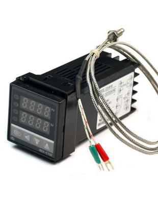 ПИД-терморегулятор REX-C100 Релейный выход без термопары REX-C...