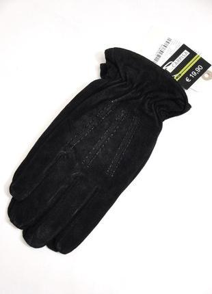 Натуральная замша новые замшевые мужские перчатки от итальянск...