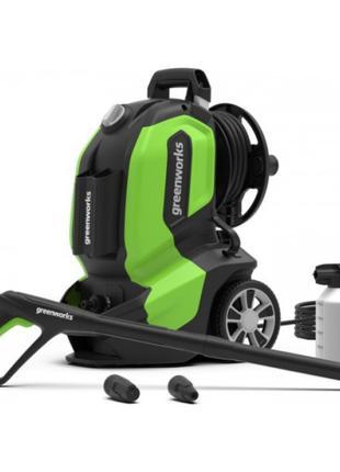 ✅ Мойка высокого давления Greenworks G50 2200W 145Bar (шланг 8...