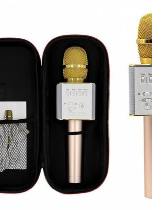 ✅ Беспроводной караоке микрофон bluetooth Q9   детский блютуз ...