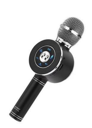 ✅ Беспроводной караоке микрофон bluetooth WS668   детский блют...