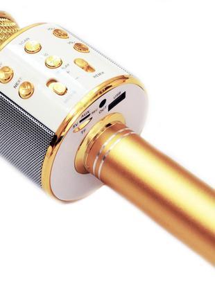 ✅ Беспроводной караоке микрофон bluetooth WS858   детский блют...