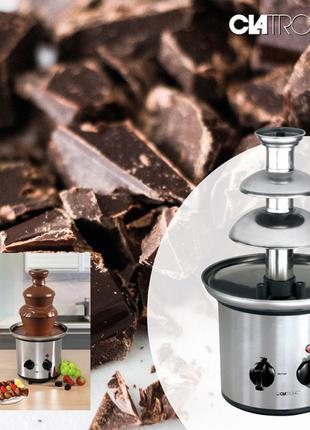 ✅ Шоколадное фондю Clatronic SKB 3248, шоколадный фонтан (4 ре...