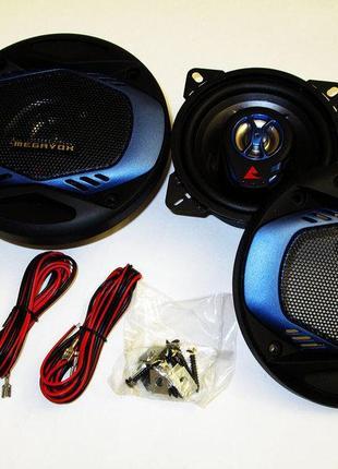 Автомобильная акустика 10см Megavox MCS-4543SR 200W 2х полосные