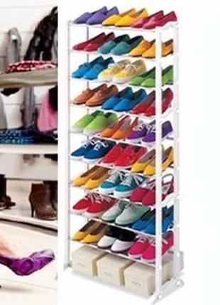 ✅ Полка для обуви Amazing Shoe Rack   обувная полка на 30 пар ...