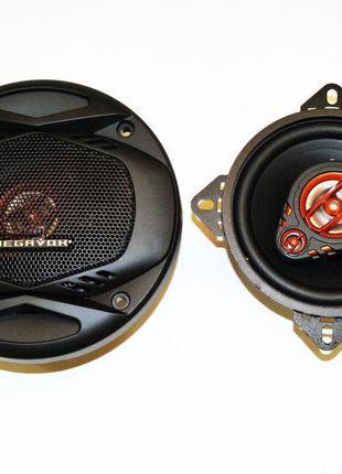 Автомобильная акустика 10см Megavox MET-4274 150W 2х полосные