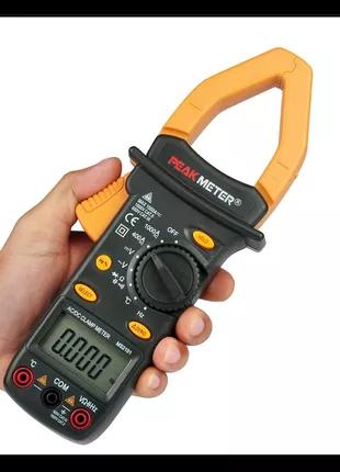 peakmeter PM2101  токовые клещи 1000A