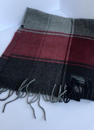 Шарф bloomingdale, мужской шарф, оригинал