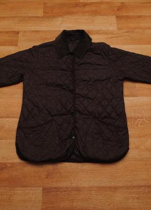 Женская стеганка barbour, осеняя куртка