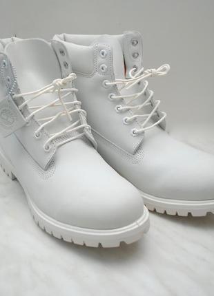 Мужские ботинки timberland, ghost white, limited release