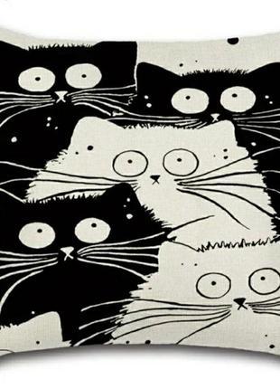 Наволочка котики