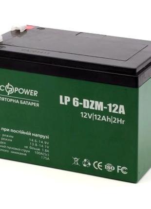 Тяговий свинцево-кислотний акумулятор LP 6-DZM-12