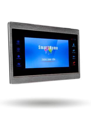Кольоровий AHD відеодомофон Green Vision GV-054-AHD-J-VD7SD si...