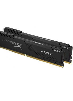 Модуль пам'яті DDR4 2 х 8GB 3200MHz Kingston HyperX Fury Black...