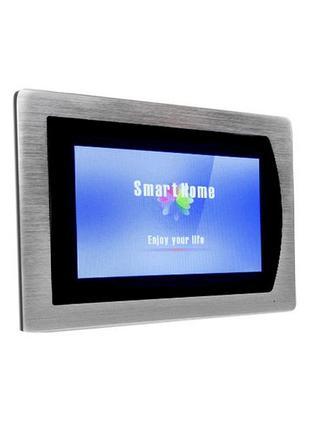 Кольоровий Сенсорний AHD відеодомофон Green Vision GV-056-AHD-...