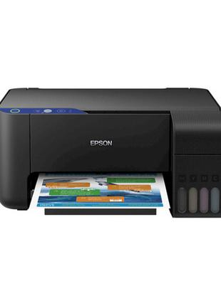 МФУ струйное Epson L3151Wi-Fi (принтер/копир/сканер) встроенна...