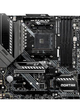 Мат.плата AM4 MSI MAG B550M MORTAR, B550, 4DDR4, HDMI/DP, 2xM....