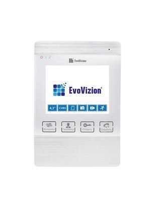 Видеодомофон EvoVizion VP-432 White