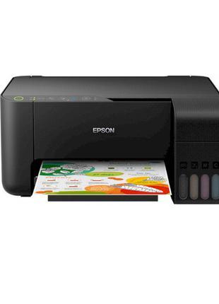 МФУ струйное Epson L3150 Wi-Fi (принтер/копир/сканер) встроенн...