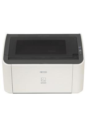 Принтер Canon LBP 3000 (хороший стан, відмінна друк, заправлен...
