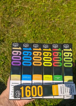Puff bar 1600