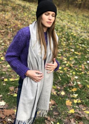 Універсальний кашеміровий шарф